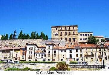 buildings in Old town of Salamanca