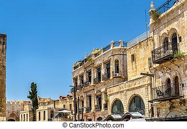 Buildings in the Armenian Quarter of Jerusalem