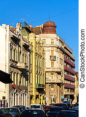 Buildings in the city center of Belgrade - Serbia