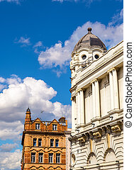 Buildings in the city centre of London - Britain