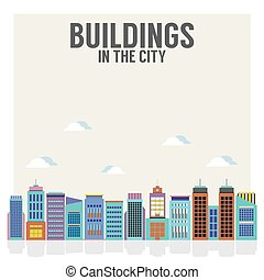 Buildings In The City.