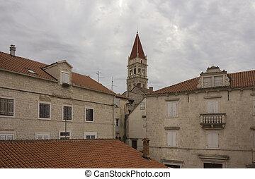 Buildings in Trogir old town