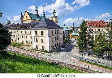 Buildings of Przemysl, Poland