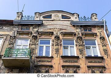 Buildings of Tarnow, Poland
