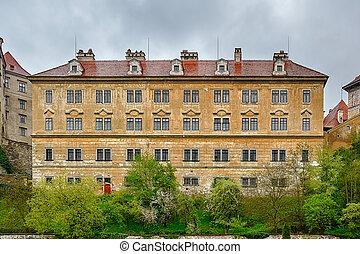 Cesky Krumlov - Buildings of the Cesky Krumlov, Czech ...