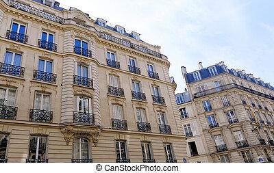 Buildings - historic parisian buildings