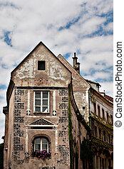 An old building in Steyr, Austria