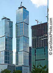 Built high-rise buildings in the Moscow's Business Center