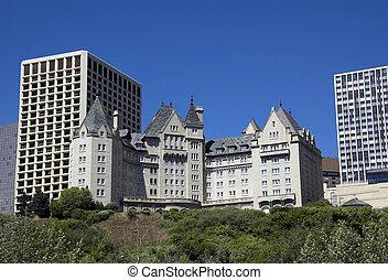 landmark hotel - Built in 1915, this is Edmonton\\\'s most...