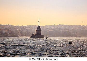Built in the middle of the Bosporus strait, the Maidens...