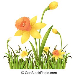 buisson fleurs vert jaune illustration illustration vectorielle rechercher des clipart. Black Bedroom Furniture Sets. Home Design Ideas