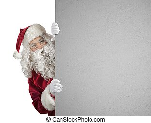 buitenreclame, claus, kerstman