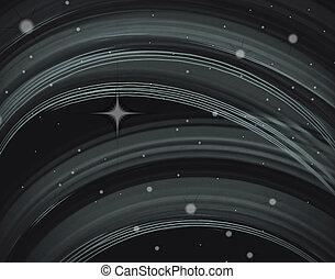 buitenste ruimte, abstract