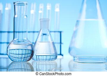 buizen, achtergrond, blauwe , test