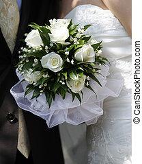 bukett, bröllop