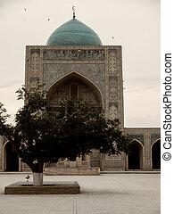 bukhara, kolon, mosque.