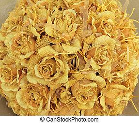 bukiet, róża, ślub