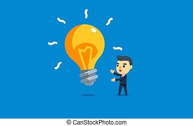 bulb., 提出すること, 巨人, ビジネスマン