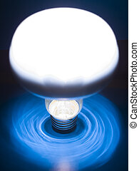 Bulb - A bulb on an background