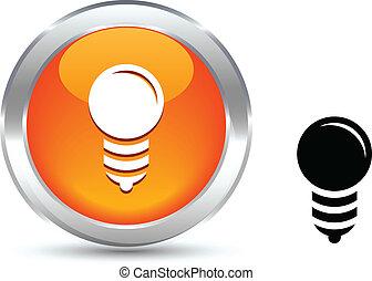 Bulb  button.