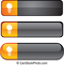 Bulb button set.