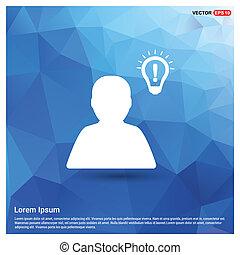 bulb concept Creative idea icon