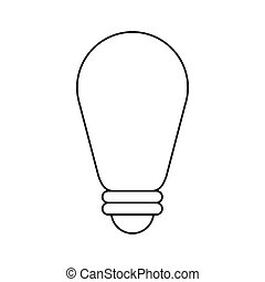 bulb environment ecological energy thin line