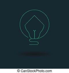 Bulb House Icon