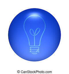 Bulb Icon Button