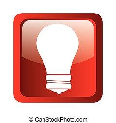 BULB icon symbol design