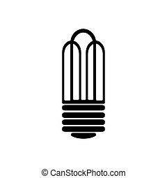Bulb icon. Vector illustration