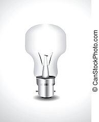 Bulb Icon Vector illustration
