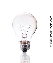 Bulb isolated on white background with clipping path.