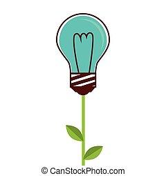 bulb light idea creative design