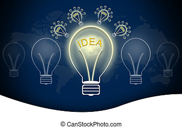 Bulb light idea