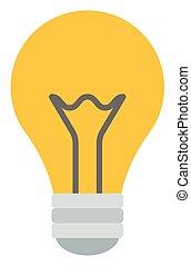 bulb., lumière jaune