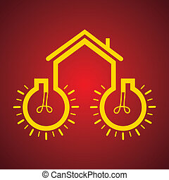 Bulb make a home