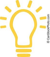 Bulb with light