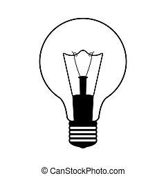 bulbo, luz