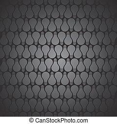 bulbo, pretas, padrão