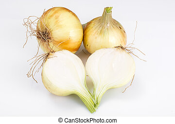 Bulbs of young onions