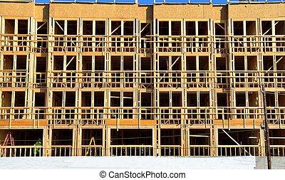 Bulding Construction Site
