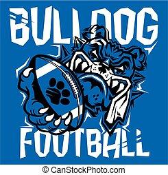 buldog, fodbold
