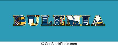 Bulemia Concept Word Art Illustration - The word BULEMIA...