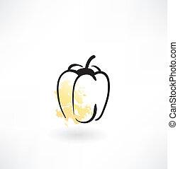 bulgare, icône poivre
