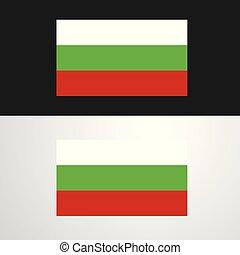 Bulgaria Flag banner design