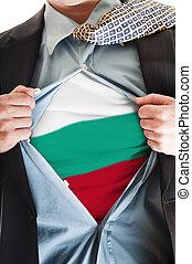 Bulgaria flag on shirt