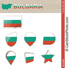 Bulgaria Flag Set, Flag Set #20