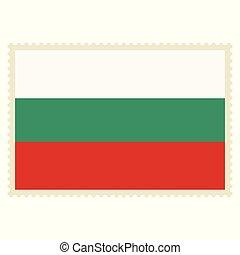 Bulgaria flag vector