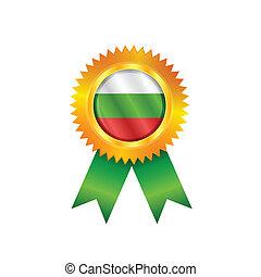 Bulgaria medal flag